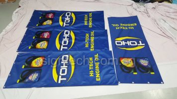 Glossy 240gsm fabric banner
