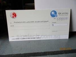 mock cheque