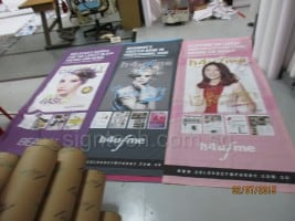 Fabric posters printing