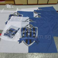 Flags printing for soccer school