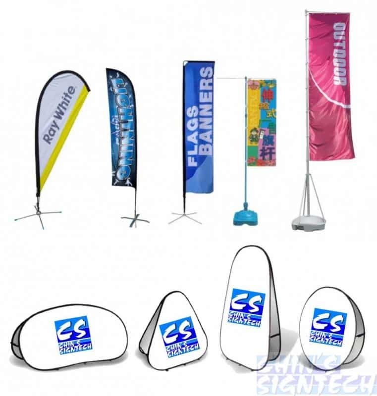 outdoor flags banners and displays