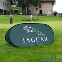 pop out banner - jaguar
