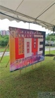 3 x 2m Backdrop for Countdown event at Sengkang Riverside Park