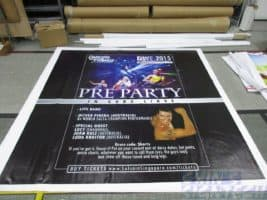 8 x 5ft PVC banner printing for dancing with friends Photo Booth backdrop - PreParty