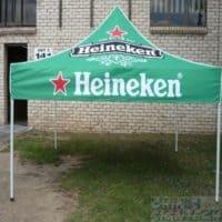 trade show tent for Heineken