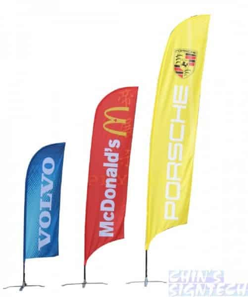 colour sleeves for Feather banners