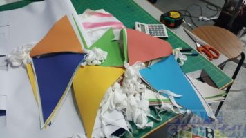 mutli colour buntings