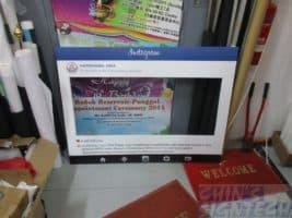 4 x 3ft Special size on Instagram foam board frame
