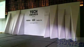 24 x 8ft Hardwarezone tech awards 2016 backdrop