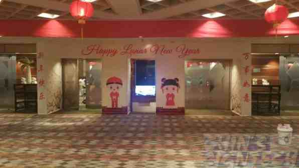 Chinese New Year Door entrance decoration