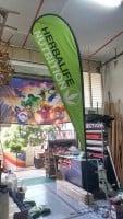 Large size teardrop banner - Herbalife