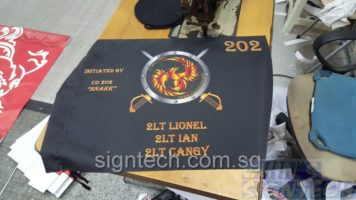 Size 6:60 X 40CM For Singapore Defence