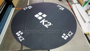10ft round table cloth for K2
