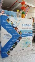 2.25m x 2.25m Fabric pop up display for ULVAC
