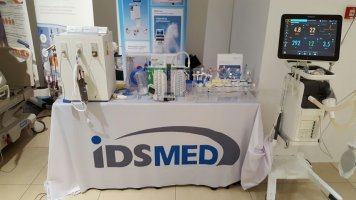 6ft tablecloth for IDSMED