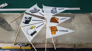 A4 size Scout Flags