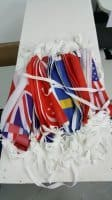 Country flags buntings