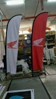 Medium Feather Flag - Honda