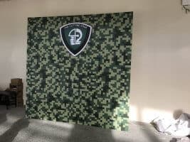 Photo booth backdrop for SAF -8 x 8ft (2)