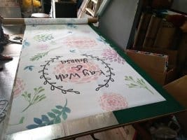 Wedding Aisle Runners (Flowery)