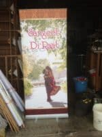 Roll up banner Sangeet Di Raat