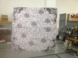 8 x 8feet self stand Foam board for backdrop
