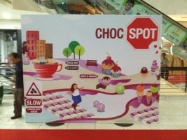 Banner Printing on Wooden Standing Frame Backdrop for Choc spot