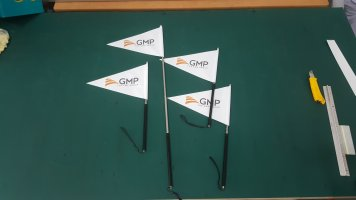 tour guide flag pole - GMP