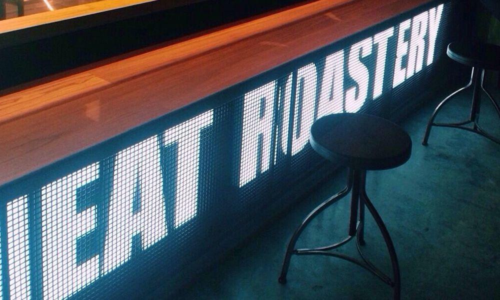 объемные буквы meat roastery