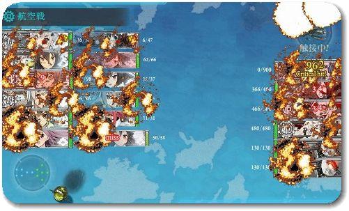 春E6 開幕爆撃で撃破!