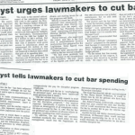 analyst urges lawmakers