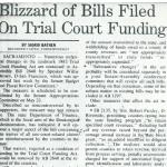 blizzard of bills filed