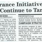 insurance initiative campaigns will