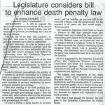 legislature considers bill to