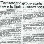 tort reform group starts