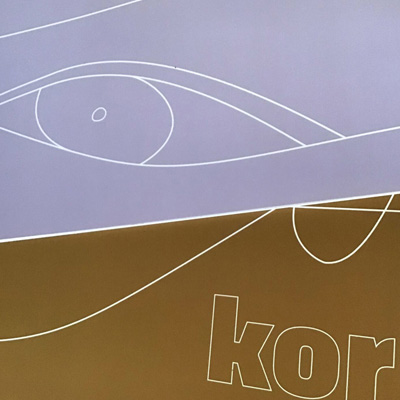 Book design, Choir improvisation, by Danish-Icelandic graphic designer Sigrun Gudbrandsdottir