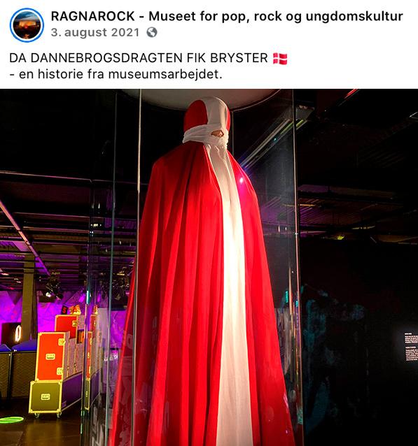 Ragnarock Rockmuseum permanent udstilling - Skælv