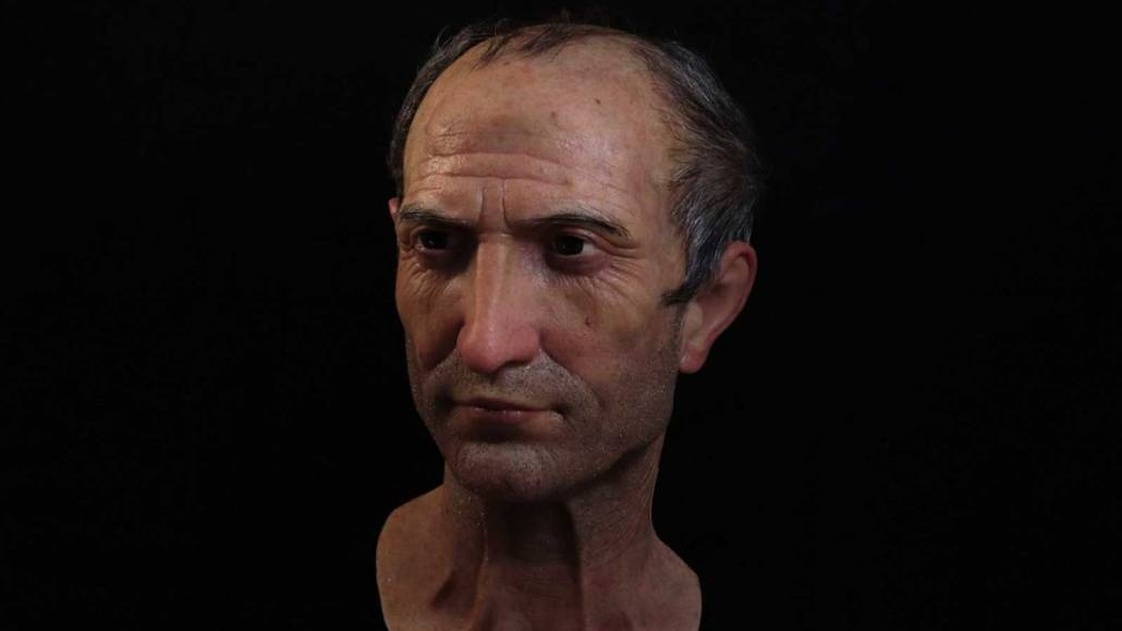 Julio César hiperrealista