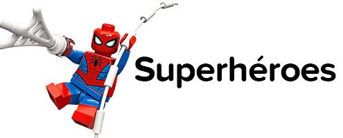 Minifiguras Superhéroes