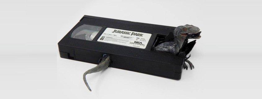 VHS Jurassic Park (2)
