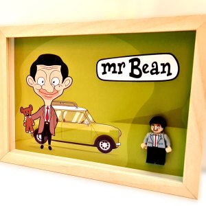 Cuadro minifigura Mr.Bean
