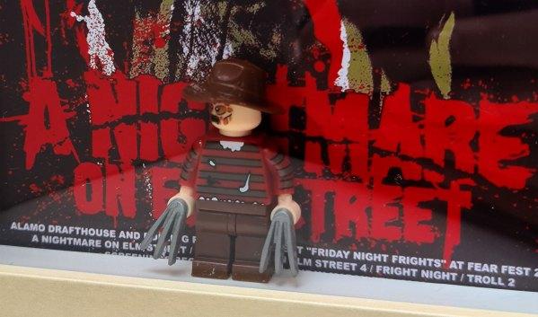 Cuadro minifigura Freddy Krueger