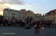 Plaza en Praga