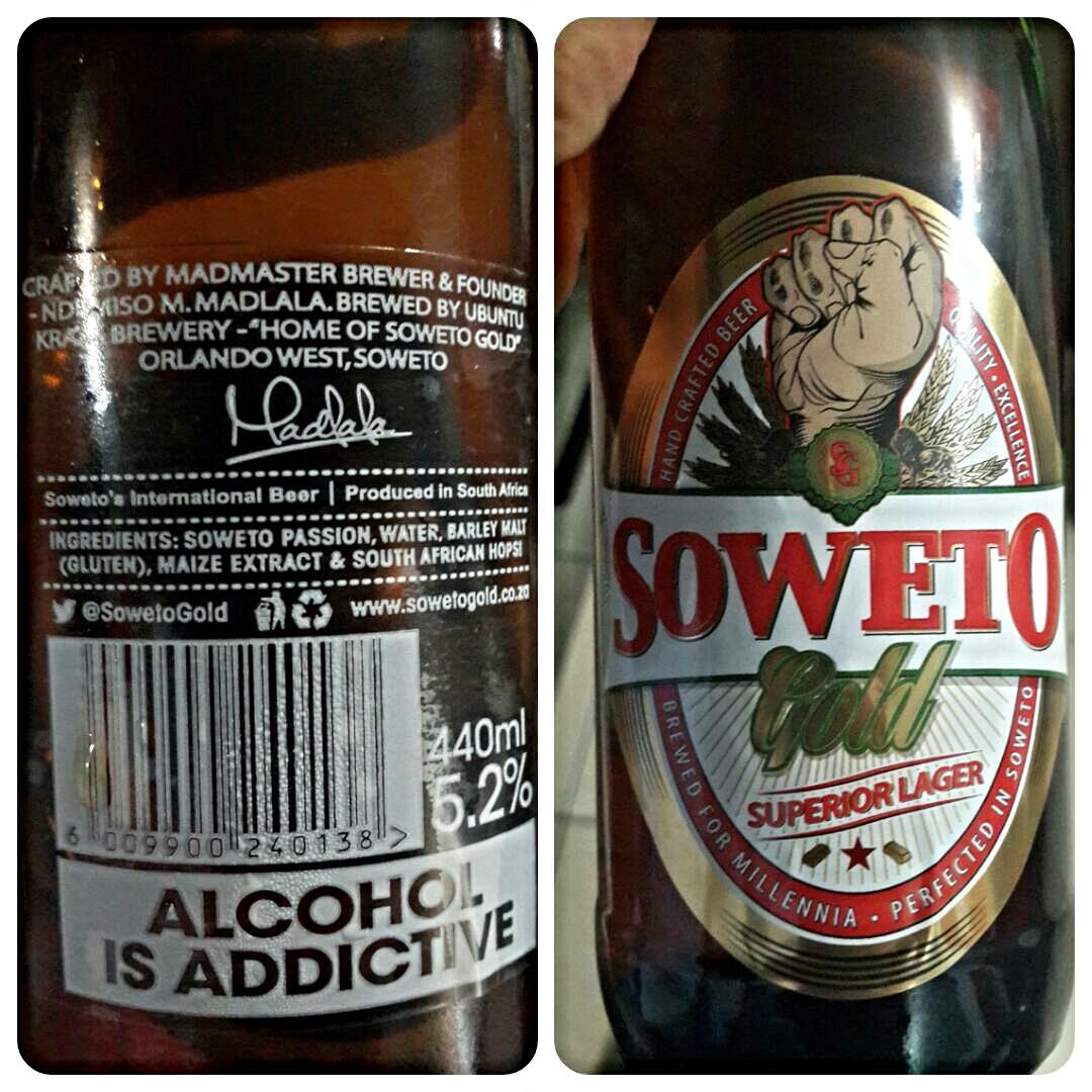 Soweto Gold frontback