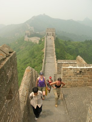 """""""In five hours, we'd conquered only ten of the Wall's 6,400km, and it really helped put things into perspective."""" Great Wall of China"""