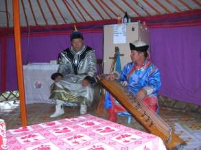 traditional Mongolian musicians