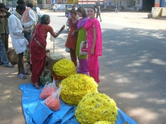 buying flower - Mysore