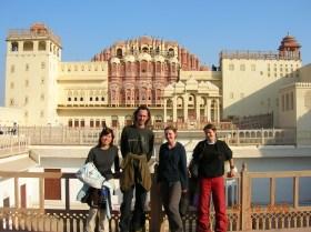 Hawa Mahal building - Jaipur