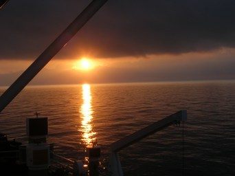 Crossing the Black Sea to Ukraine