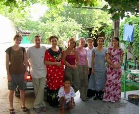 Our hosts, Ashgabat